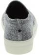 Steve Madden Slip-on Schuhe für Damen aus silbernem technischem Stoff