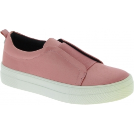 Steve Madden Damenmode Plattform Slip-on schnurlose Schuhe aus rosa satin