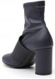 Maison Margiela Stiefeletten mit Absatz für Damen aus blauem Nappaleder