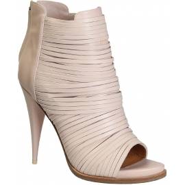 Givenchy Heels Stiefeletten in Light Pink Kalbsleder