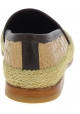 Dolce&Gabbana Herren mode Mokassins Schuhe aus beigem und lila Krokodilleder
