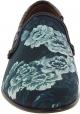 Dolce&Gabbana Herren Mokassins Schuhe aus Krokodil bedruckt blau azurblau Leder