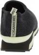 Hogan Sneakers Schuhe mode für Damen aus schwarzem Stoff mit Glitzer