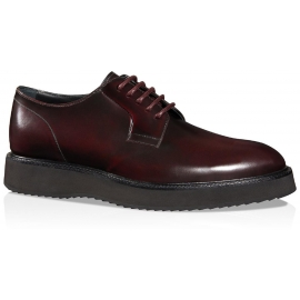 Hogan Route X H271 lace-ups in bordeauxleder