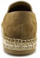 Prada Damen Espadrilles mit spitzen Zehen aus Kamelwildleder