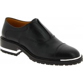 Barbara Bui Schuhe ohne Schnürsenkel Frauen mit bequemem Absatz schwarz Leder