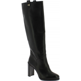 Stuart Weitzman Kniehohe Damen stiefel für Damen aus schwarzem Leder