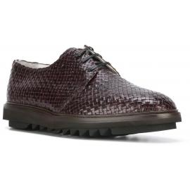 Dolce & Gabbana Herren Schnürschuhe aus gewebtem Leder