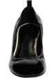 Lanvin Pumps mit Absatz aus schwarzem Lackleder