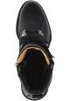 Barbara Bui Ranger stiefel für Damen mit Schnürung aus schwarzem Leder