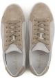 Hogan H302 Herren Sneaker Schuhe in beige Wildleder