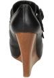 Chloé Frauenkeile aus schwarzem Leder