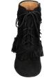 Aquazzura High Heels Stiefeletten aus schwarzem Wildleder