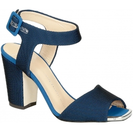 Giuseppe Zanotti Sandaletten aus blauem Tech-Stoff