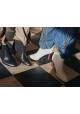 Chloé Stiefeletten Damenstiefeletten aus beige Leder Stoff