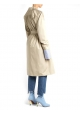 Stiefel blau Stretch-Stoff leichte Ferse