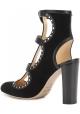 Jimmy Choo High Heels Sandalen aus schwarzem Wildleder
