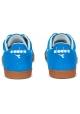 Diadora Männer Tokio Sneakers aus azurblauem Wildleder