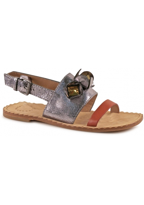 Marc Jacobs Frauen Sandalen in Multi-Color-Leder