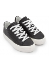 Pierre Hardy Damen Sneakers aus schwarzem Kalbsleder