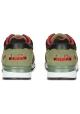 Diadora N9000 Herren-Sneaker aus khakifarbenem Wildleder