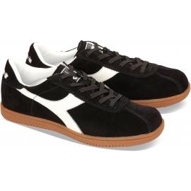 Diadora Tokio Herren-Sneaker aus schwarzem Wildleder