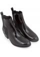 Pierre Hardy Damenstiefeletten aus schwarzem Lackleder