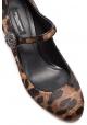 Dolce & Gabbana Heels Mary Janes aus Leoparden-Pony-Leder