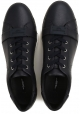 Dolce & Gabbana Herren Sneaker aus schwarzem Kalbsleder