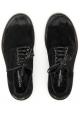 Dolce & Gabbana Herren-Schnürer aus schwarzem Rindsleder