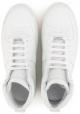 Maison Margiela Herren High Top Sneakers aus weißem Leder