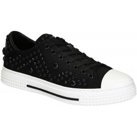 Valentino Herren-Sneakers aus schwarzem Stoff
