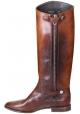 Golden Goose Japan Kniehohe Stiefel aus hellbraunem Kalbsleder