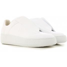 Zukünftige Sneakers aus weißem Leder von Martin Margiela