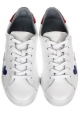 Chiara Ferragni Sneaker aus weißem Leder und Glitzer