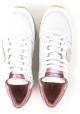 Philippe Model Damen niedrige Sneakers aus weißem Leder