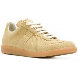 Maison Margiela Herren Replica Sneakers aus beigem Stoff