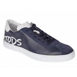 Tod's Sneakers Herren blau und Wildleder Gommino