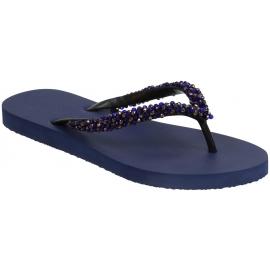 Flip Flops der Uzurii-Frauen im blauen Gummi