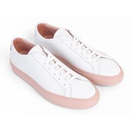 Herren Common Projects Sneaker aus weißem Leder