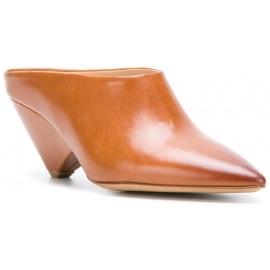 Maison Margiela Sandaletten aus camelfarbenem Leder