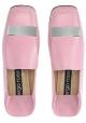 Damen Slipper von Sergio Rossi aus rosa Leder