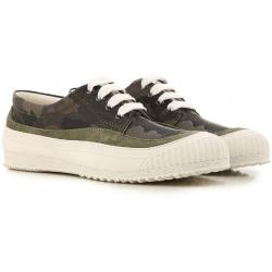 Hogan niedrige Sneakers für Damen aus Tarnstoff