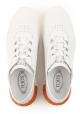 Tod's Damen Low Top Sneakers aus weißem Leder