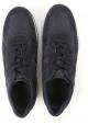 Hogan Interactive Herren Sneakers aus dunkelblauem Wildleder