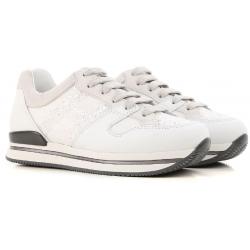 Hogan niedrige Sneakers für Damen aus weißem Leder