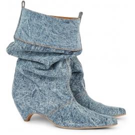 Stella McCartney Damen Denim-Midkie-Stiefelettenschuhe für Damen