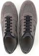 Hogan interactive Herren Sneakers aus braunem Leder und grauem Stoff