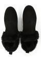 Hogan Knöchelhohe Stiefeletten für Damen aus schwarzem Wildleder