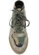 Hogan H365 Hohe Sneakers für Herren aus Nabuk-Leder mit einem Stoff in Tarnfarbe